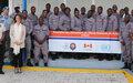 Haïti-Police : Clôture de la cérémonie de la formation des formateurs de l'Ecole Nationale de Police