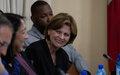 Haïti a besoin d'un « renouveau démocratique», a déclaré l'envoyée de l'ONU au Conseil de sécurité