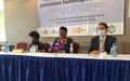 Message des organisations de personnes handicapées sur le degré de mise en œuvre des recommandations du comité des droits des personnes handicapées à Haiti en 2018.